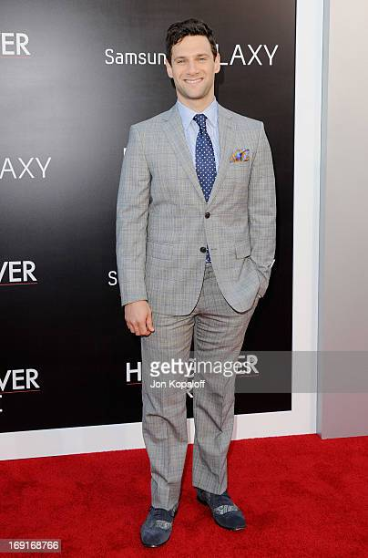 Actor Justin Bartha arrives at the Los Angeles Premiere 'The Hangover Part III' at Westwood Village Theatre on May 20 2013 in Westwood California