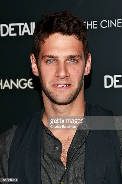 Actor Justin Bartha attends a screening of The Hangover hosted by the Cinema Society and Details at the Tribeca Grand Screening Room on June 4 2009...