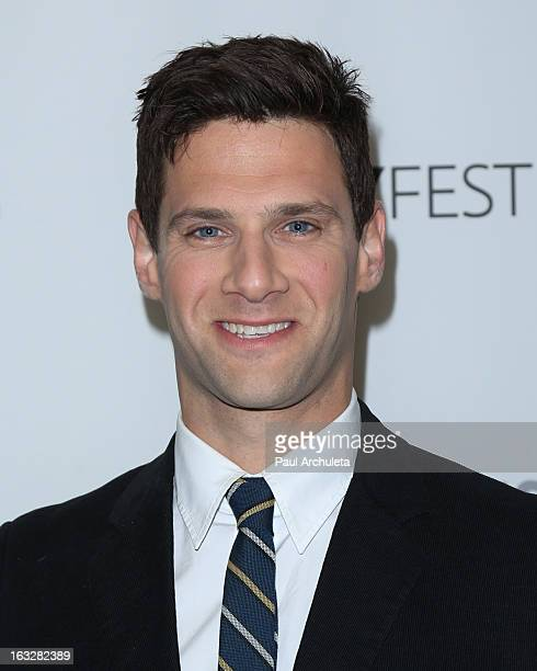 Actor Justin Bartha attends the 30th annual PaleyFest featuring the cast of The New Normal at Saban Theatre on March 6 2013 in Beverly Hills...