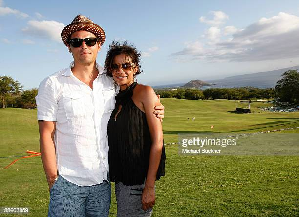 Actor Justin Chambers and actress Keisha Chambers attend the Maui Film Festival Taste of Wailea on June 20 2009 in Wailea Hawaii