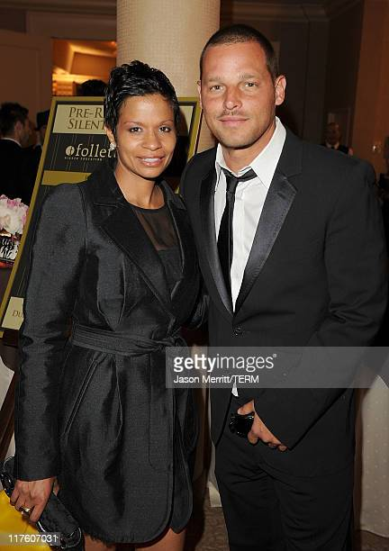Actor Justin Chambers and his wife Keisha Chambers attend the 2nd Annual Thirst Project Gala at The Beverly Hilton hotel on June 28 2011 in Beverly...