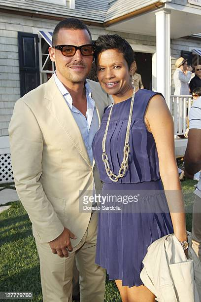 Actor Justin Chambers and Keisha Chambers Tommy Hilfiger And Lisa Birnbach Celebrate Prep World In Los Angeleson June 9, 2011 in Los Angeles,...