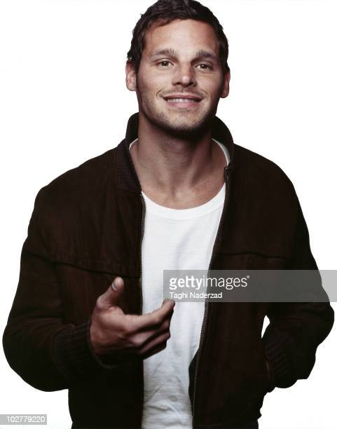 Actor Justin Chambers poses at a portrait session in New York in March 2005 for EastWest Magazine