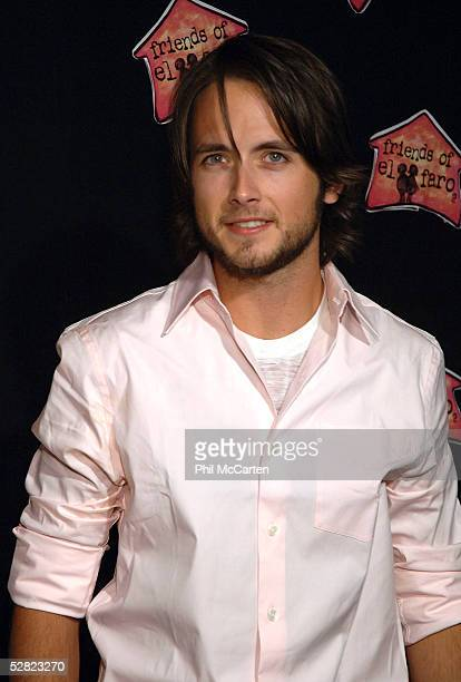 Actor Justin Chatwin arrives at the 3rd annual A Night with the Friends of El Faro benefit and concert at The Music Box Henry Fonda theater on May 13...