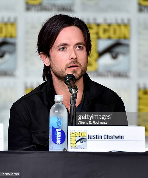 Actor Justin Chatwin attends CBS Television Studios Block Including 'Scorpion' 'American Gothic' And 'MacGyver' during ComicCon International 2016 at...