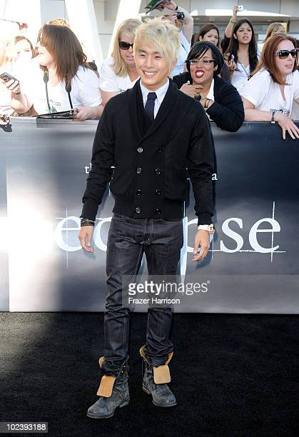 Actor Justin Chon arrives at the premiere of Summit Entertainment's The Twilight Saga Eclipse during the 2010 Los Angeles Film Festival at Nokia...