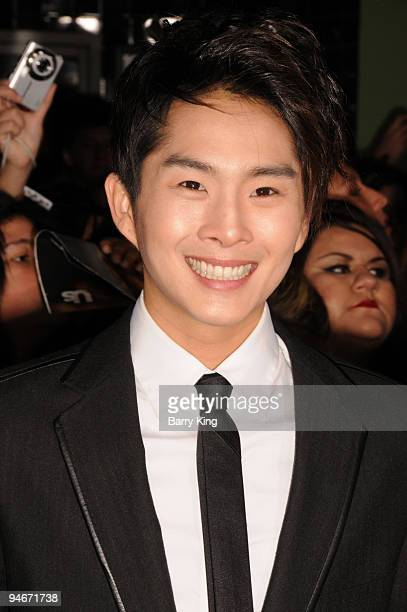 Actor Justin Chon arrives at The Twilight Saga New Moon premiere held at the Mann Village Theatre on November 16 2009 in Westwood California