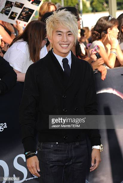 Actor Justin Chon arrives to the premiere of Summit Entertainment's The Twilight Saga Eclipse during the 2010 Los Angeles Film Festival at Nokia...
