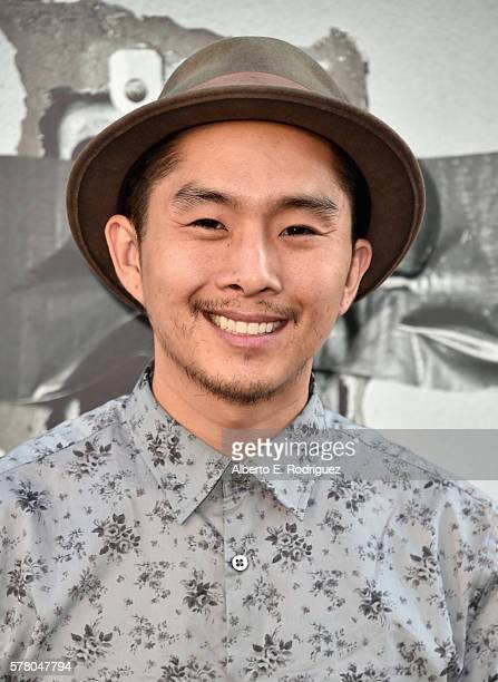 Actor Justin Chon attends the premiere of New Line Cinema's Lights Out at the TCL Chinese Theatre on July 19 2016 in Hollywood California