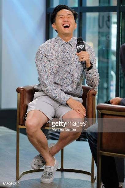 Actor Justin Chon discusses the new film Gook at Build Studio on July 26 2017 in New York City