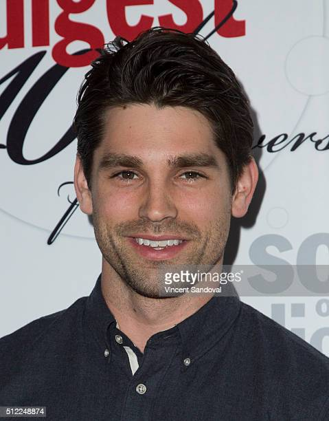 Actor Justin Gaston attends Soap Opera Digest Celebrates 40th Anniversary at The Argyle on February 24 2016 in Hollywood California