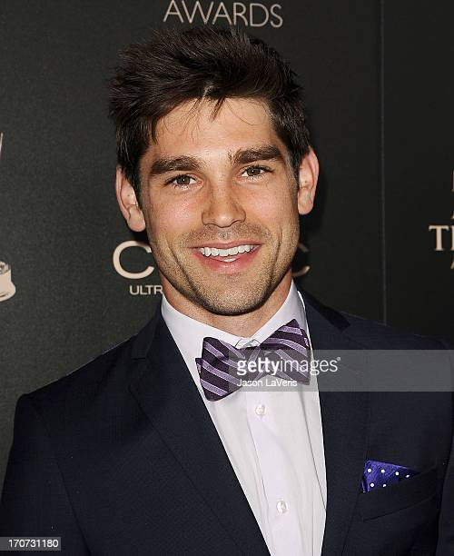 Actor Justin Gaston attends the 40th annual Daytime Emmy Awards at The Beverly Hilton Hotel on June 16 2013 in Beverly Hills California