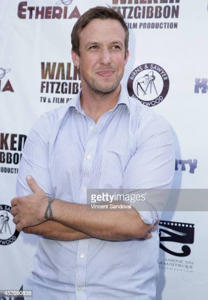 Actor Justin Gordon attends the 2014 Etheria Film Night at American Cinematheque's Egyptian Theatre on July 12 2014 in Hollywood California