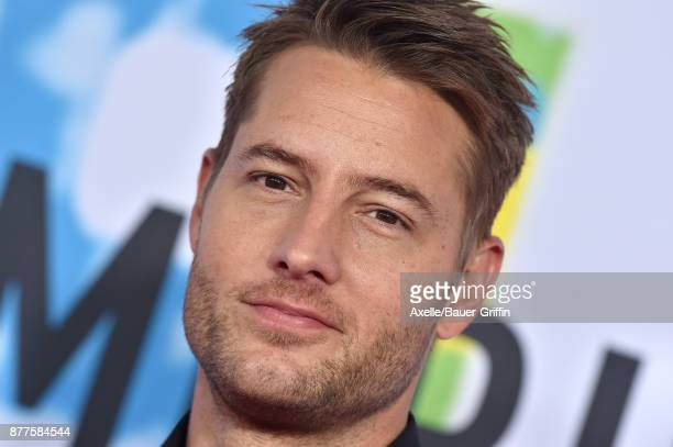 Actor Justin Hartley arrives at the 2017 American Music Awards at Microsoft Theater on November 19 2017 in Los Angeles California