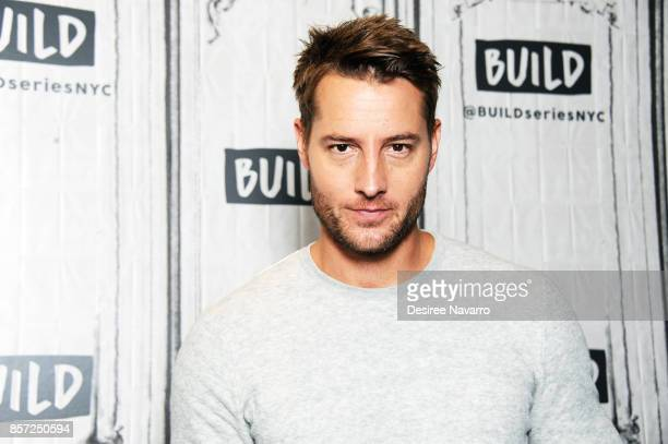 Actor Justin Hartley attends Build to discuss the show 'This Is Us' at Build Studio on October 3 2017 in New York City