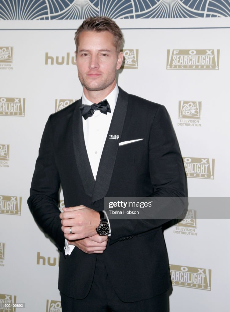 Actor Justin Hartley attends FOX, FX and Hulu 2018 Golden Globe Awards After Party at The Beverly Hilton Hotel on January 7, 2018 in Beverly Hills, California.