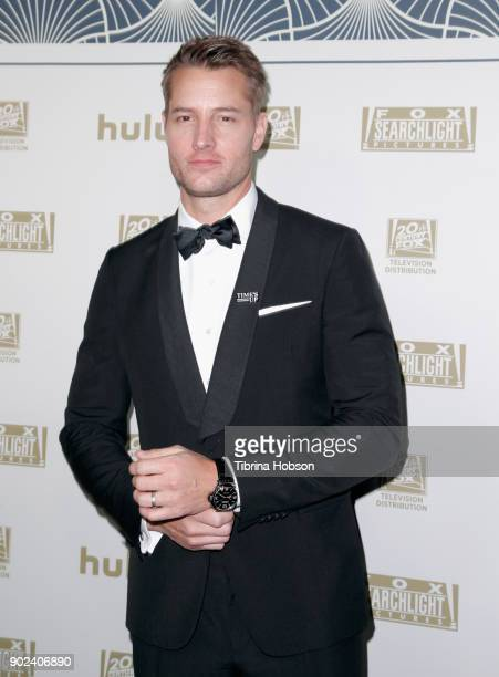 Actor Justin Hartley attends FOX FX and Hulu 2018 Golden Globe Awards After Party at The Beverly Hilton Hotel on January 7 2018 in Beverly Hills...