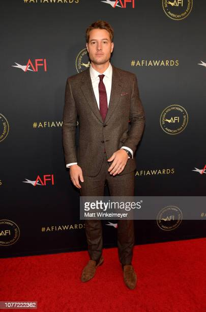 Actor Justin Hartley attends the 19th Annual AFI Awards at Four Seasons Hotel Los Angeles at Beverly Hills on January 4 2019 in Los Angeles California
