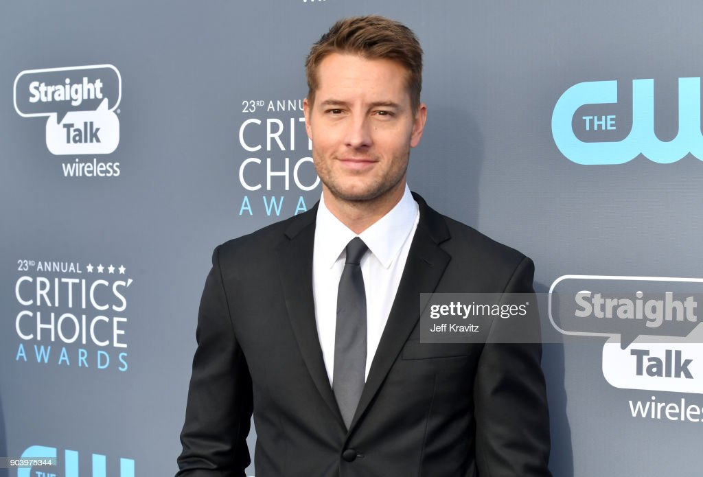 Actor Justin Hartley attends The 23rd Annual Critics' Choice Awards at Barker Hangar on January 11, 2018 in Santa Monica, California.