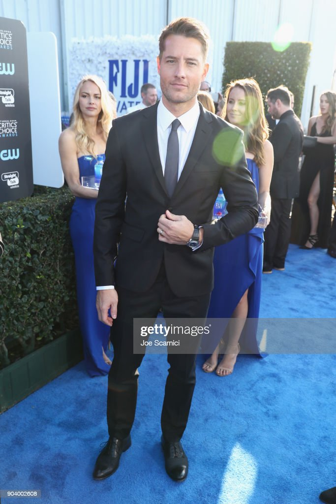 Actor Justin Hartley attends the 23rd Annual Critics' Choice Awards on January 11, 2018 in Santa Monica, California.