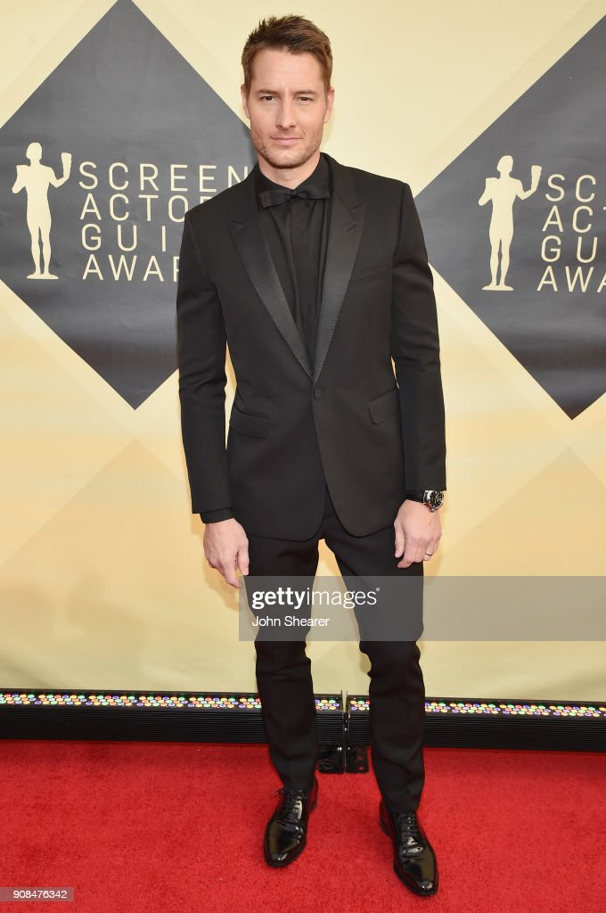 Actor Justin Hartley attends the 24th Annual Screen Actors Guild Awards at The Shrine Auditorium on January 21, 2018 in Los Angeles, California.