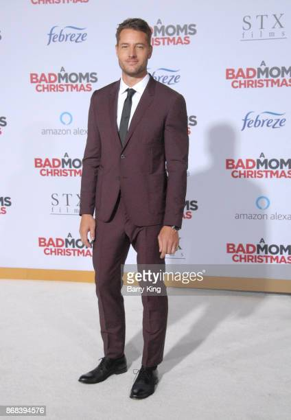 Actor Justin Hartley attends the premiere of STX Entertainment's 'A Bad Mom's Christmas' at Regency Village Theatre on October 30 2017 in Westwood...