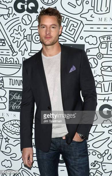 Actor Justin Hartley attends the Saks Downtown men's opening at Saks Downtown Men's on February 22 2017 in New York City
