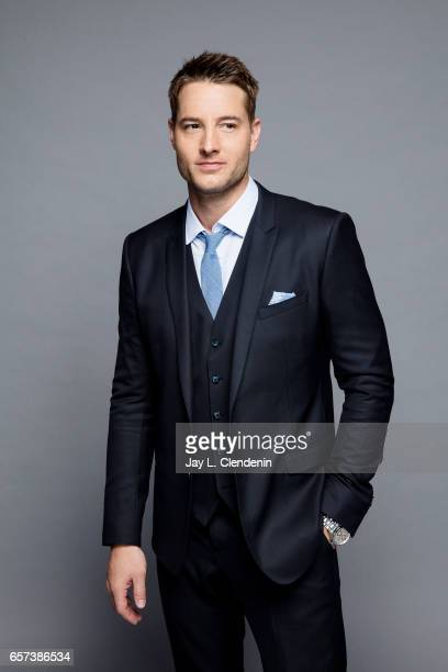 Actor Justin Hartley from NBC's 'This is Us' is photographed at Paley Fest for Los Angeles Times on March 18 2017 in Los Angeles California PUBLISHED...