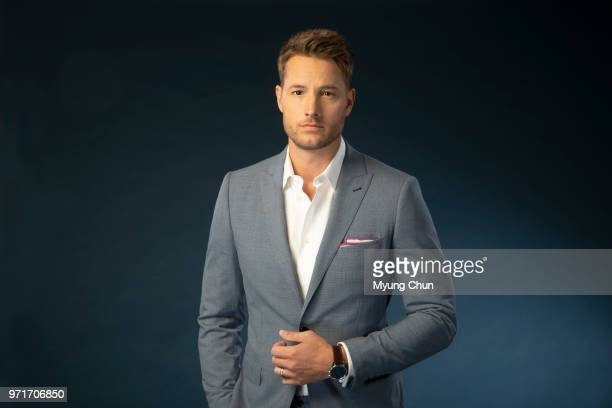 Actor Justin Hartley is photographed for Los Angeles Times on May 3 2018 in Los Angeles California PUBLISHED IMAGE CREDIT MUST READ Myung J Chun/Los...