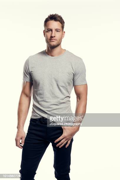 Actor Justin Hartley is photographed for Spec on February 7 2018 in North Hollywood California