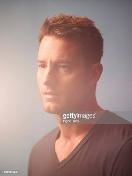Actor Justin Hartley photographed for Variety on February 12 in Los Angeles California