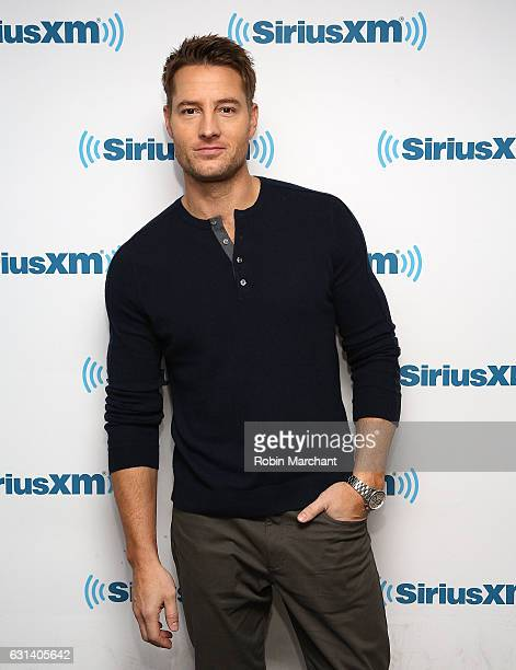 Actor Justin Hartley visits at SiriusXM Studios on January 10 2017 in New York City