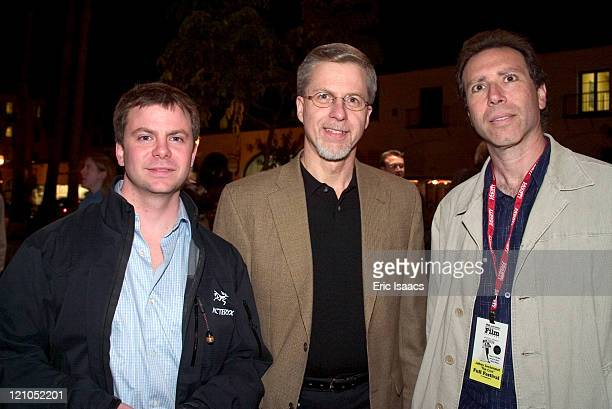 Actor Justin Henry Producer Bob Fleischman and Director of Photography Jeffrey Seckendorf prior to the SBIFF screening of their film Finding Home