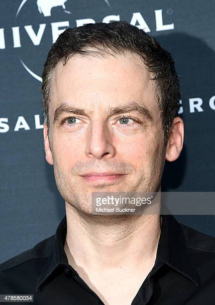 Actor Justin Kirk arrives at the premiere of A24 Films 'Amy' at ArcLight Cinemas on June 25 2015 in Hollywood California