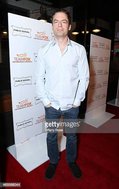 Actor Justin Kirk attends Raising The Bar To End Parkinson's at Public School 818 on March 7 2015 in Sherman Oaks California