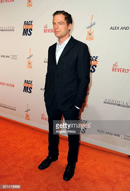 Actor Justin Kirk attends the 23rd Annual Race To Erase MS Gala at The Beverly Hilton Hotel on April 15 2016 in Beverly Hills California