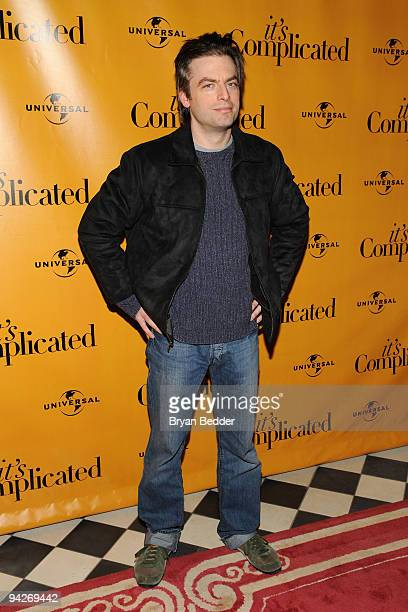Actor Justin Kirk attends the special screening of It's Complicated after party at the Gramercy Park Hotel on December 10 2009 in New York City