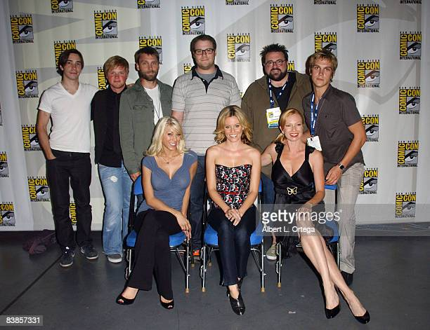 Actor Justin Long actor Ricky Maabe producer Scott Mosier actor Seth Rogen director Kevin Smith actor Jason Mewes actress Katie Morgan actress...
