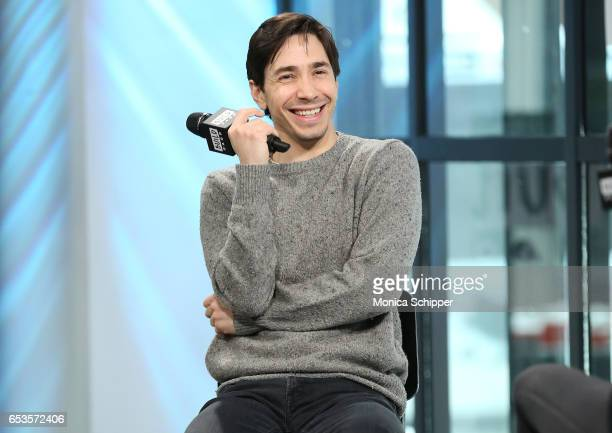 Actor Justin Long attends Build Series Presents Justin Long Discussing 'Lavender' at Build Studio on March 15 2017 in New York City
