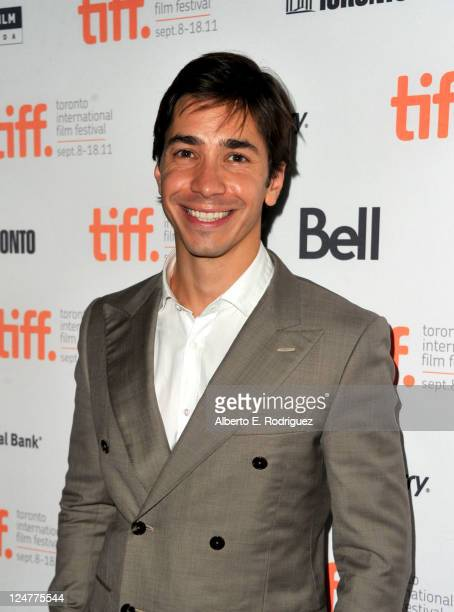 Actor Justin Long attends Ten Year Premiere at Ryerson Theatre during the 2011 Toronto International Film Festival on September 12 2011 in Toronto...
