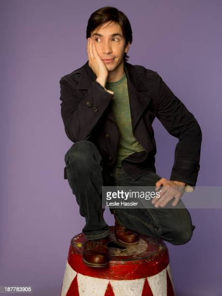 Actor Justin Long is photographed for Self Assignment on April 22 2013 in New York City