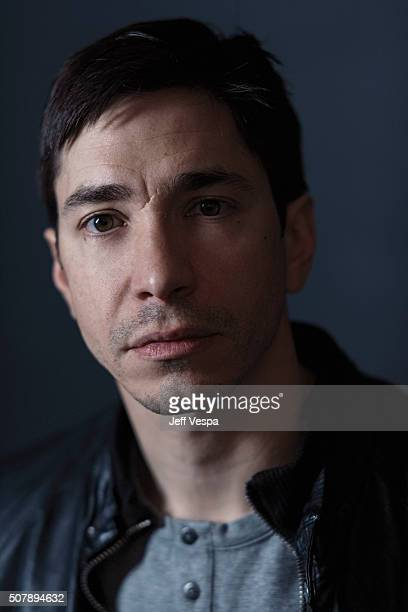 Actor Justin Long of 'Yoga Hosers' poses for a portrait at the 2016 Sundance Film Festival on January 24 2016 in Park City Utah