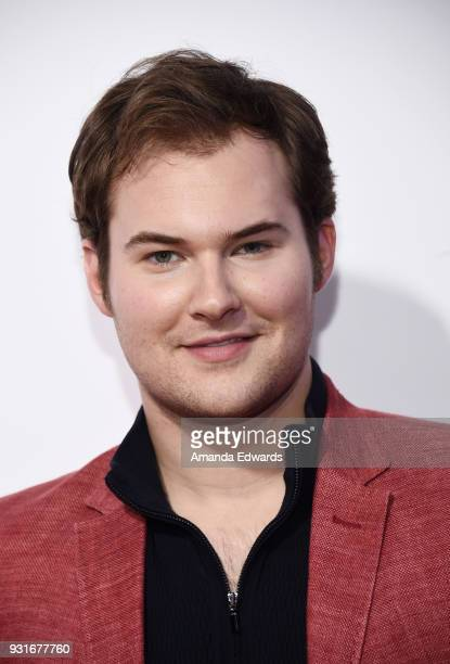 Actor Justin Prentice arrives at the 'Love Simon' special screening and performance at Westfield Century City on March 13 2018 in Century City...