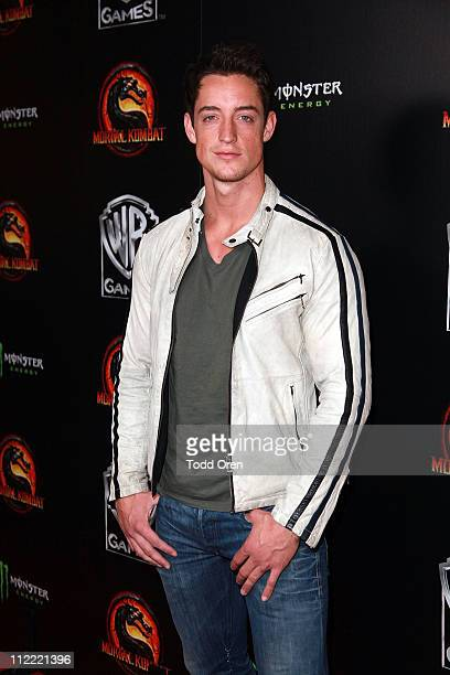 """Actor Justin Price attends the """"Mortal Kombat Legacy"""" digital series premiere celebration at Saint Felix II on April 14, 2011 in Hollywood,..."""