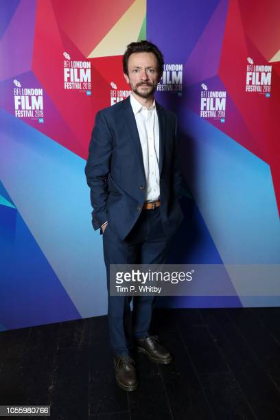 Actor Justin Salinger attends the UK Premiere of Ray Liz at the 62nd BFI London Film Festival on October 17 2018 in London England