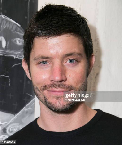 Actor Justin Schwan attends the Guys Reading Poems fundraiser at V Wine Bar on April 11 2014 in West Hollywood California