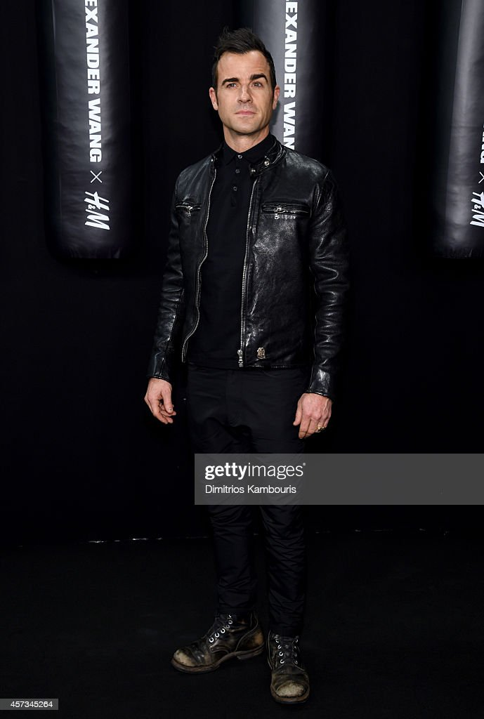 Actor Justin Theroux attends the Alexander Wang X H&M Launch on October 16, 2014 in New York City.