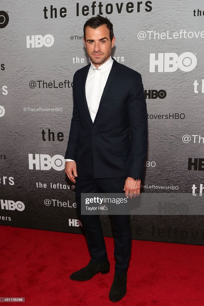 Actor Justin Theroux attends 'The Leftovers' premiere at NYU Skirball Center on June 23, 2014 in New York City.