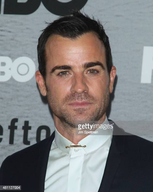 Actor Justin Theroux attends The Leftovers premiere at NYU Skirball Center on June 23 2014 in New York City