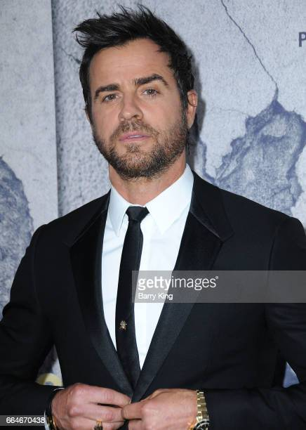 Actor Justin Theroux attends the premiere of HBO's 'The Leftovers' Season 3 at Avalon Hollywood on April 4 2017 in Los Angeles California